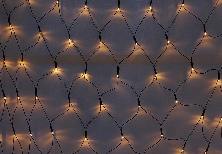 Vánoční světelná síť diLED 1x1,2 m, 100 diod, vč. trafa