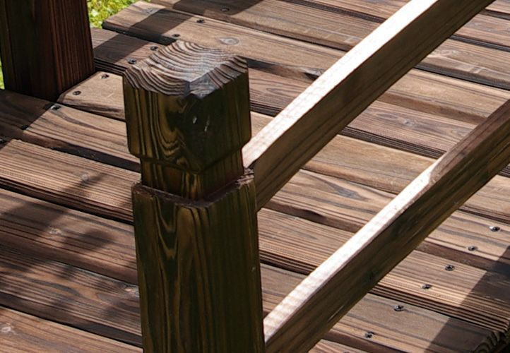 Ozdobný dřevěný můstek na zahradu 150x67x55 cm