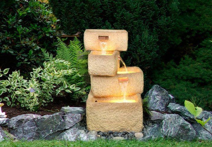Dekorativní fontánka / kašna na zahradu / do bytu, 77 cm