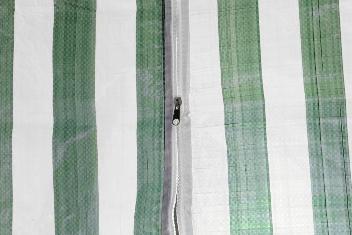 Menší zahradní altán 3x3 m, vč. bočních stěn, zelenobílý