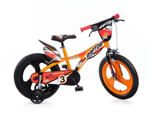 Dětské kolo 16 se stabilizačními kolečky, sport. vzhled, barevné