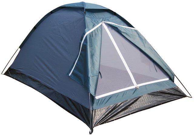 Lehký jednoplášťový stan, moskytiéra, vodní sloupec 3000 mm, 2-3 osoby