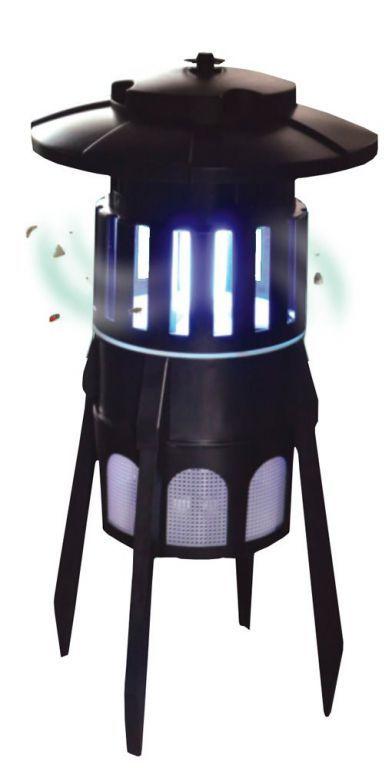 Elektronická mucholapka UV-A, venkovní / vnitřní