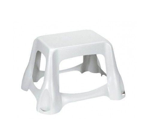 Plastová stolička / židlička, bílá
