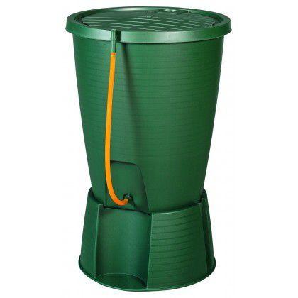 Plastový sud na vodu 200 l, zelený