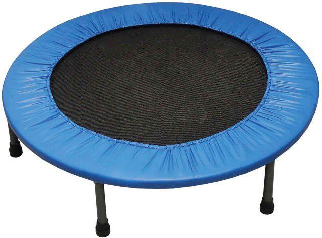 Gymnastická trampolína do interiéru 122 cm, nosnost 110 kg