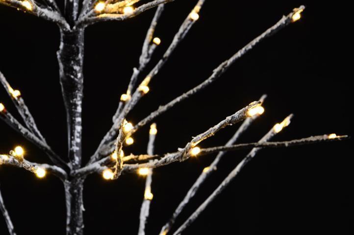 Okrasný umělý strom do bytu / na zahradu, svítící diody, 90 cm