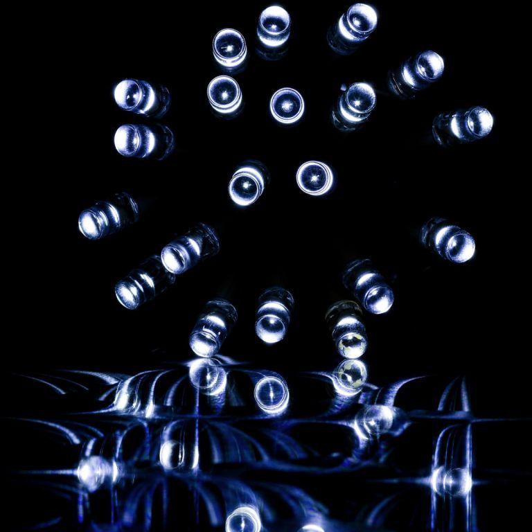 Vánoční řetěz na stromeček venkovní / vnitřní, 200 LED, 20 m