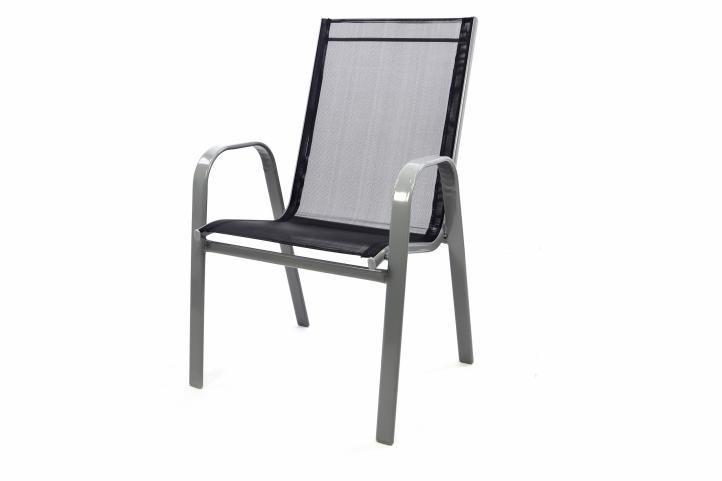 Levný set kovového nábytku na terasu / balkon, pro 4 osoby