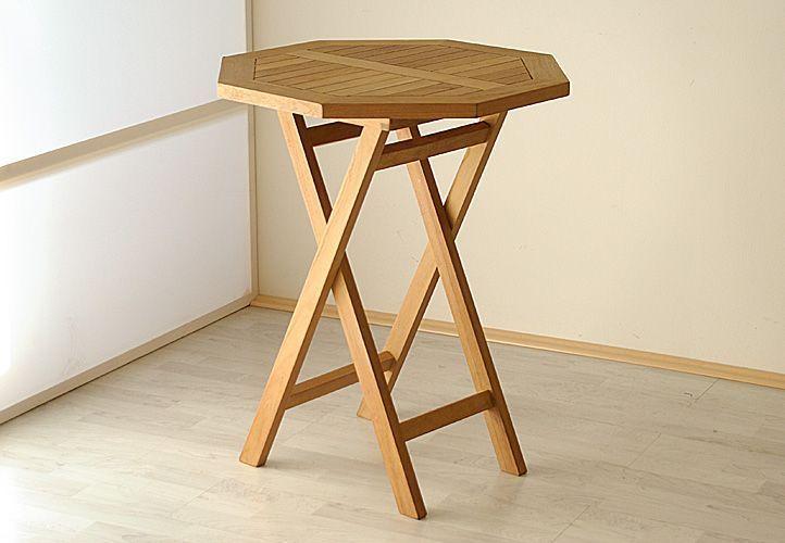 Malá sestava teakového dřevěného nábytku na balkon, pro 2 osoby