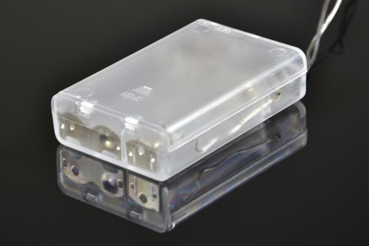 LED řetěz na baterie s mini LED diodami, vnitřní, 20 LED, 2 m