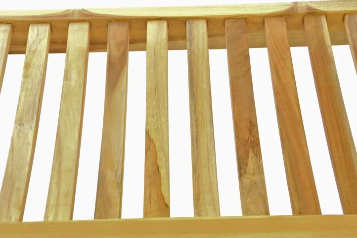 Masivní zahradní lavice pro 3 osoby, tvrdé teakové dřevo, 180 cm